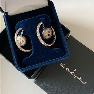 Pittsburgh Steeler Danbury Mint Earring